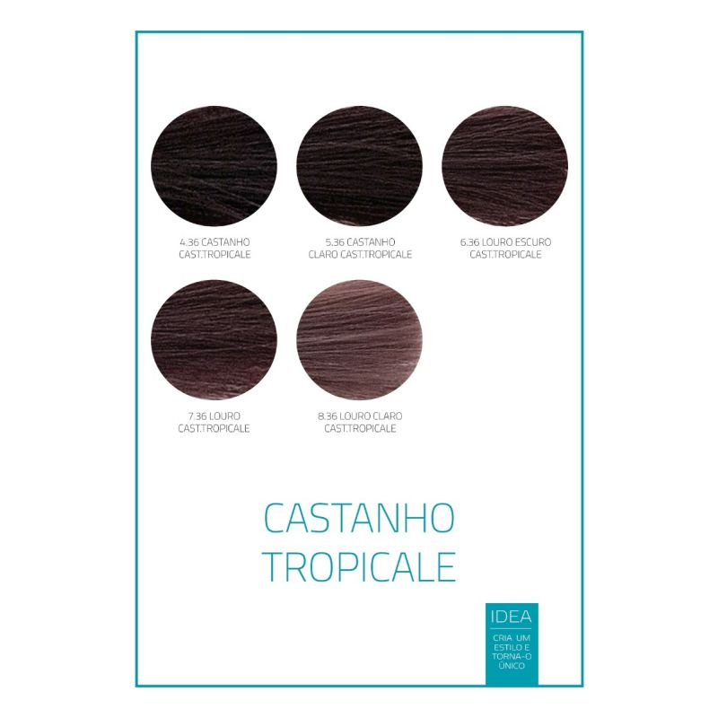 CREME COLORANTE IDEA MARROM TROPICAL