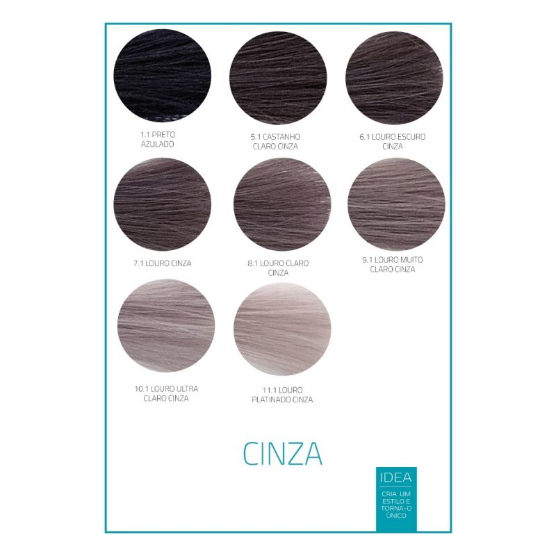 CREME COLORANTE IDEA CINZA
