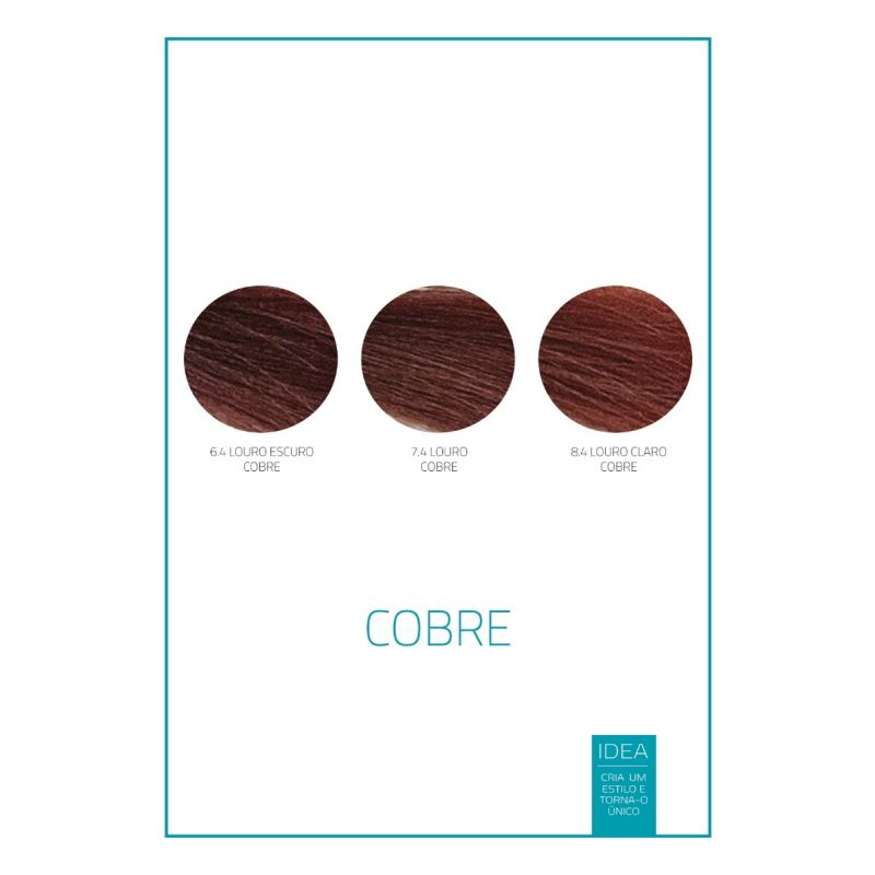 CREME COLORANTE IDEA COBRE