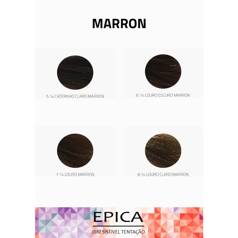 CREME COLORANTE EPICA MARRON