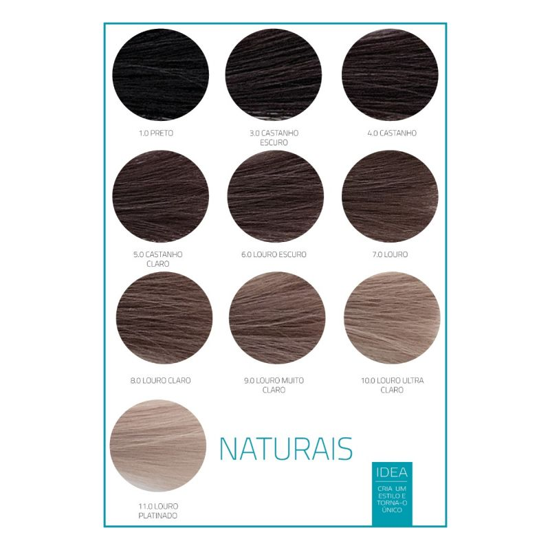 CREME COLORANTE IDEA NATURAIS
